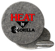 Heat by Gorilla burnishing pads generate 90 degree + heat to bond silicate coatings to concrete.
