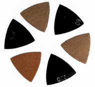"3"" triangular grinding discs for concrete, marble and granite, wet/dry"