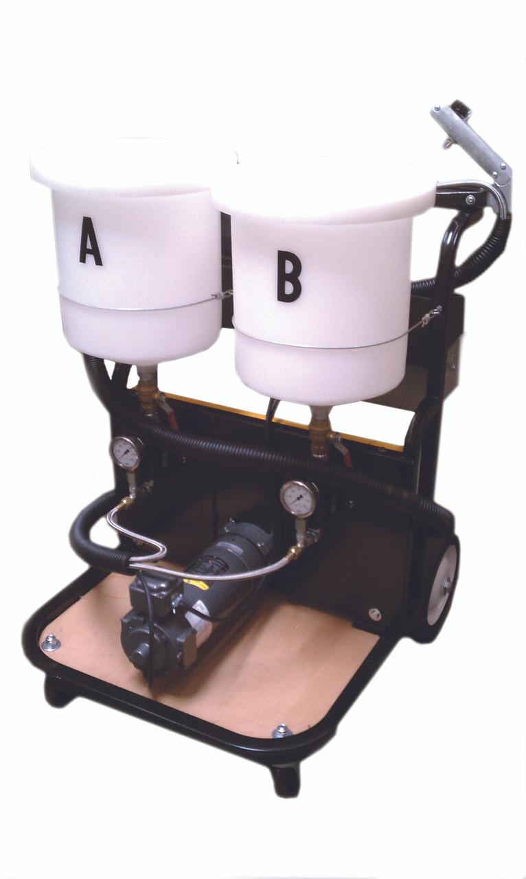 Electric Dual Component Polyurea Gear Pump