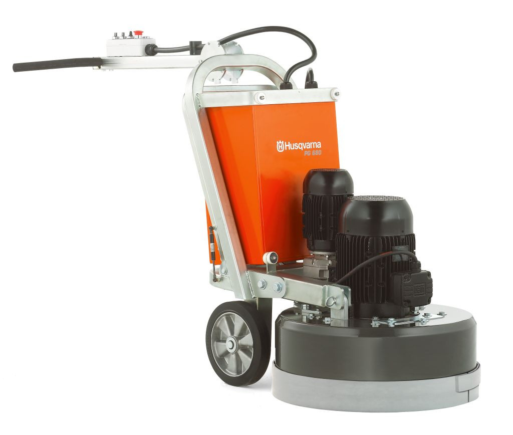 Husqvarna Pg 680 Floor Grinder Polisher