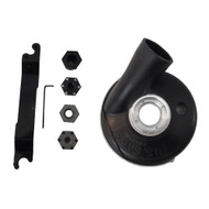 "5"" Pro Dust Shroud for Bosch.  Basic Kit with Full Shroud"