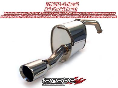 Tanabe Medalion Touring Exhaust - Scion xB 04-07 - Scion xB/Scion xB 2004-2007/Exhaust