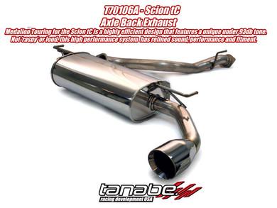 Tanabe Medalion Touring Exhaust - Scion tC 05-10 - Scion tC/Scion tC 05-10/Exhaust