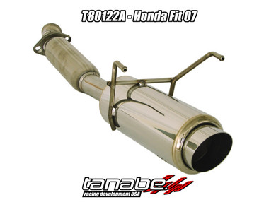 Tanabe Concept G Axle-Back Exhaust - Honda Fit 06-08 - Honda Fit/Honda Fit 06-08/Exhaust
