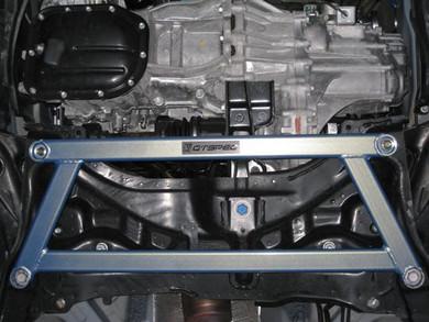 GTSPEC 4 Point Under Brace - Toyota Yaris 06-09 - Toyota Yaris/Suspension/Handling