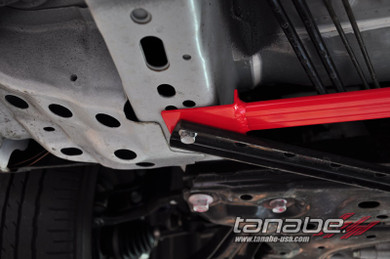 Tanabe 2-point Front Under Brace - Mazda 2 - Mazda 2/Suspension/Handling