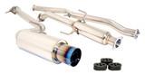 Megan Racing Drift Spec Cat Back Exhaust - Titanium Tip - Scion tC 11+