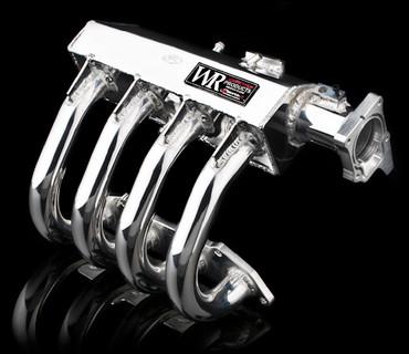 Weapon-R Race Sheet Metal Intake Manifold - Honda Fit 06-08