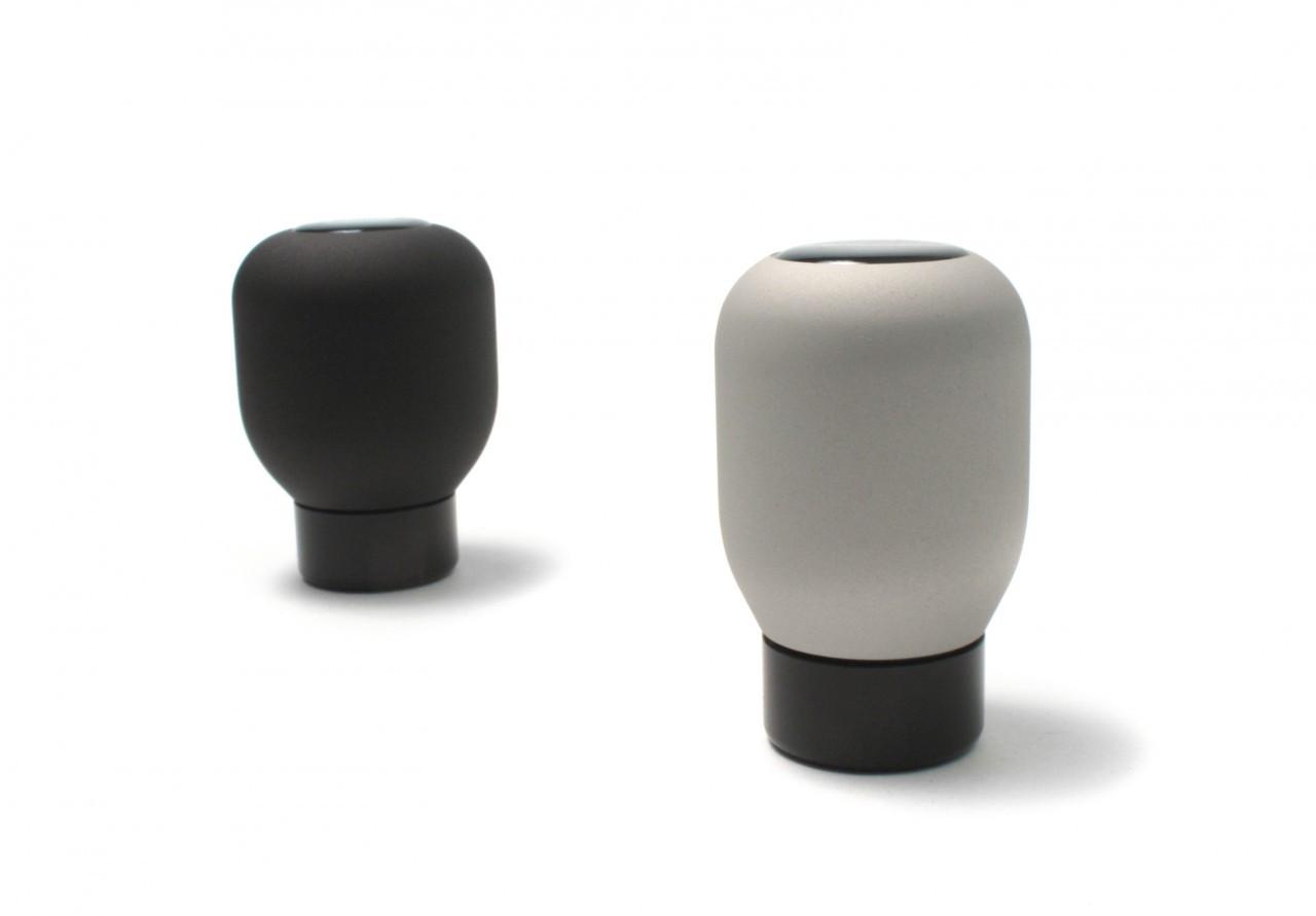 Perrin Shift Knob - Black/Silver - Slim or Fat- Scion FR-S