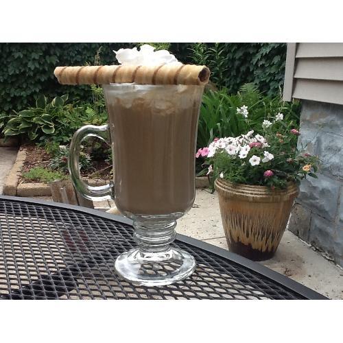 Irish Glass Coffee Mug with Optic Design Libbey 5294 8.25 oz 12//Case
