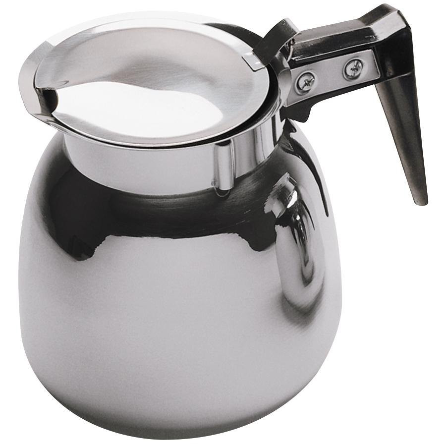 Winco BS-64 Stainless Steel Coffee Server 64-Ounce
