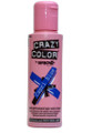 Crazy Color - Semi-Permanent Hair Color Cream 100ml - #44 Capri Blue
