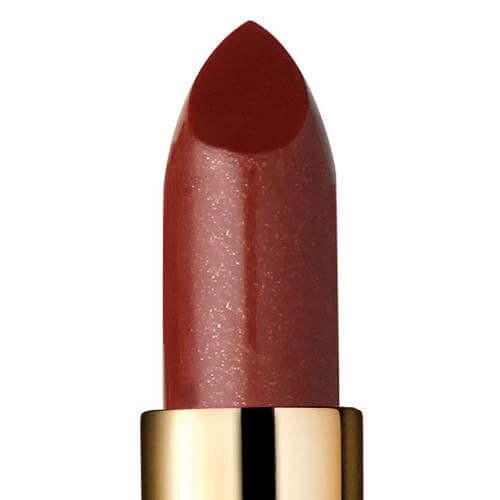 Closeup of Devious, a sheer natural looking lipstick