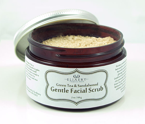 Green Tea & Sandalwood Gentle Facial Scrub