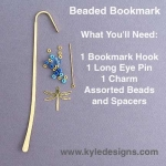 Beaded Bookmark Hook - Easy DIY Crafts Project