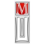 Monogrammed Bookmarks