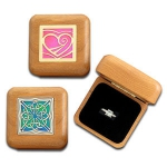 Wooden Engagement Ring Boxes