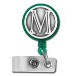 Monogrammed Badge Reels