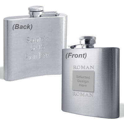 Engravable Flasks