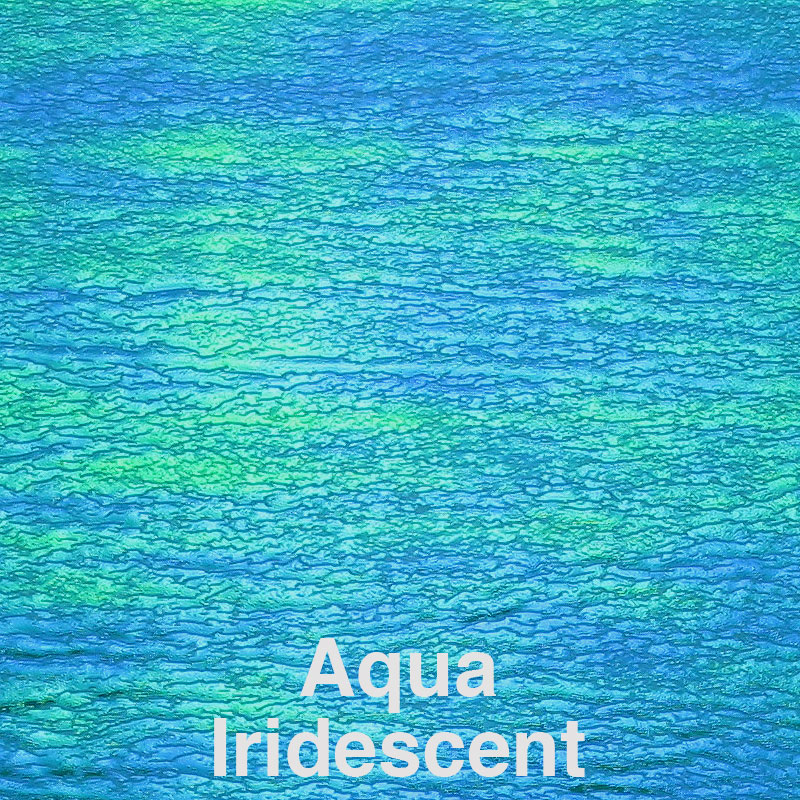 Aqua Iridescent Color