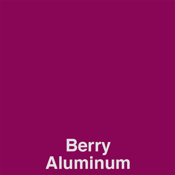 Berry Aluminum Color