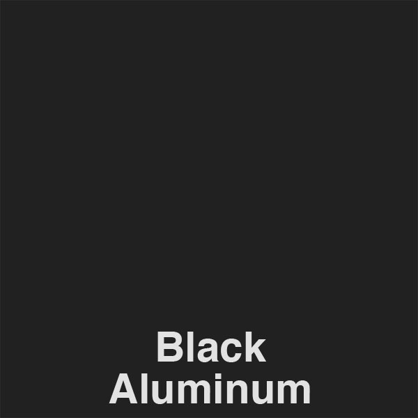 Black Aluminum Color