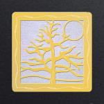 Gold - Pearl White Iridescent