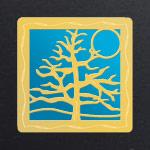 Gold - Turquoise Aluminum