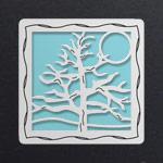Silver - Aquamarine Aluminum