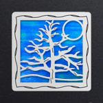 Silver - Ocean Iridescent