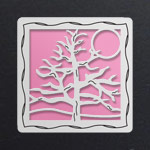 Silver - Pink Aluminum