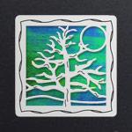Silver - Rainforest Iridescent
