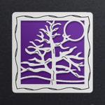 Silver - Violet Aluminum