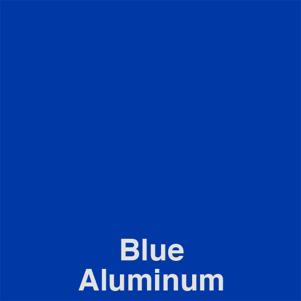 Blue Aluminum Color