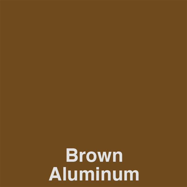 Brown Aluminum Color