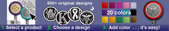 Custom Badge Holder Reels
