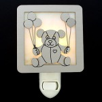 Cute Teddy Bear Night Light Has a Cozy Glow
