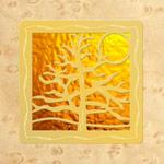 Maple - Gold Design- Gold Glass