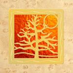 Maple - Gold - Orange Glass