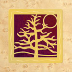 Maple - Gold - Plum Glass