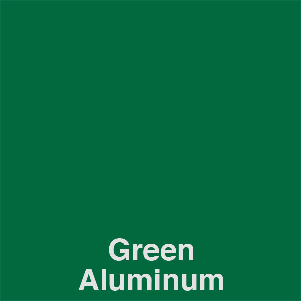 Green Aluminum Color