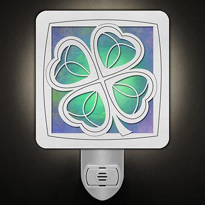 Green St. Patrick's Day Night Light