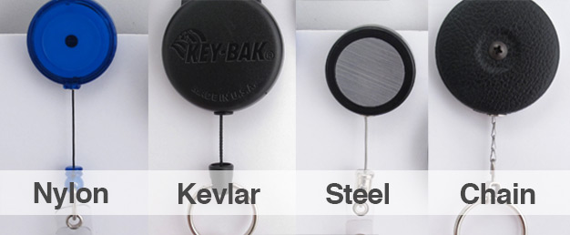 Badge Reel Cord Types