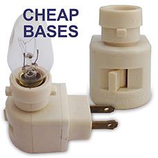 Cheap Night Light Bases