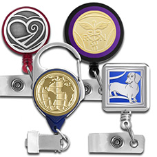Decorative Badge Reel Styles