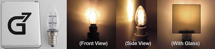 G7 Night Light Bulbs