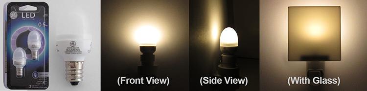GE Lighting Night Light Bulbs - LED 1.5 C7/W/CD2