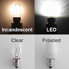 Night Light Bulb Brightness Amp Color Comparison Kyle Design