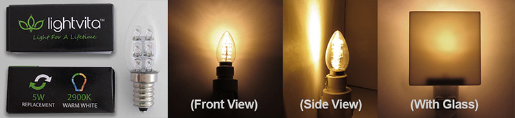 Lightvida Night Light Bulb - LED 0.5W