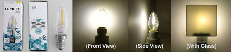 Luxrite LED Nitelight Bulb Info